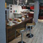 Semi modular kitchen design