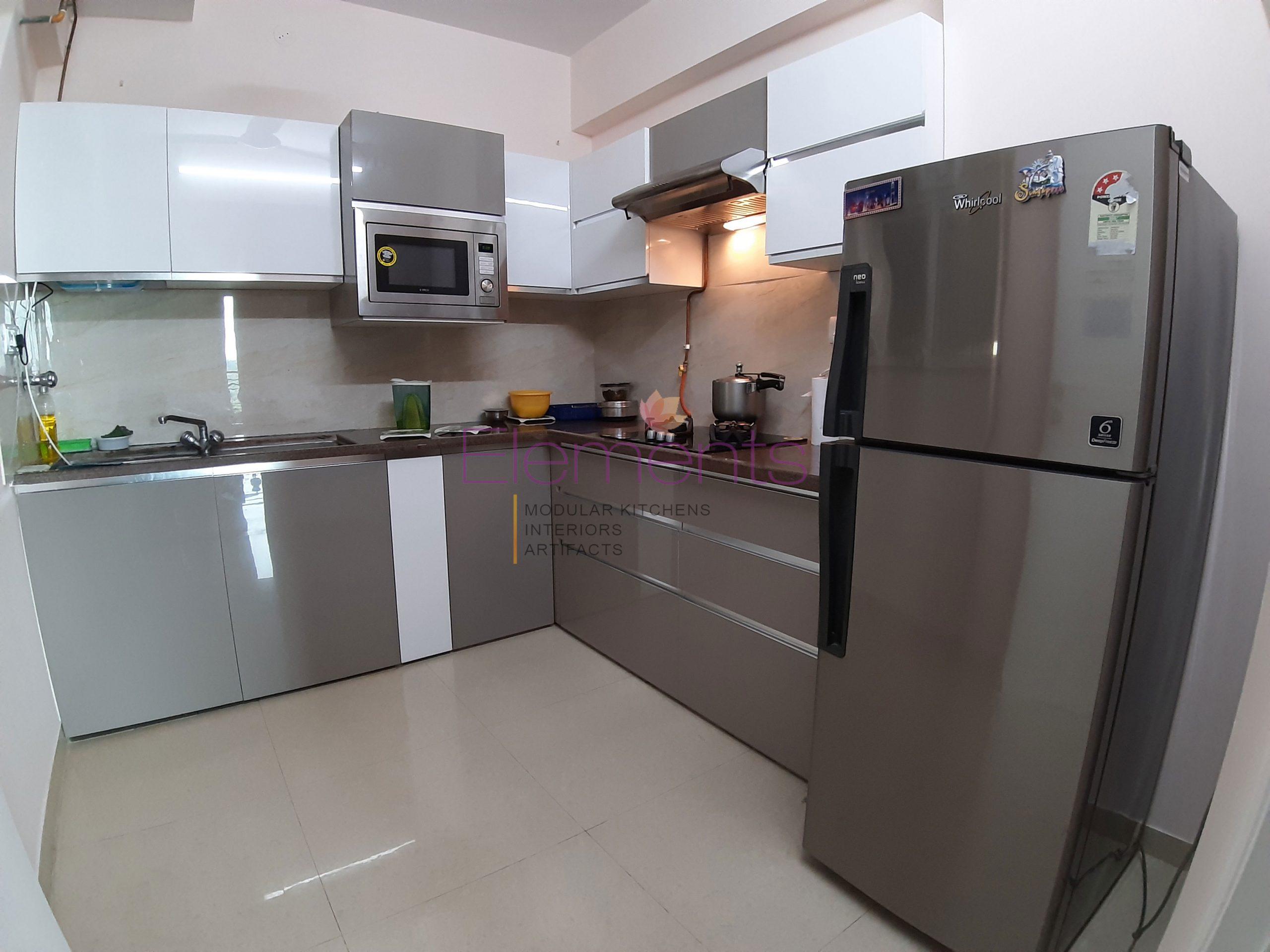 Best Luxurious Modular Kitchen Designs by Elements in Mumbai